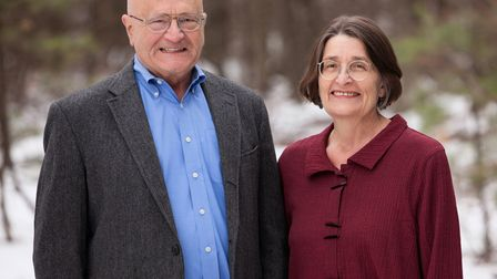 Jeffrey and Connie May, authors ofMy House is Killing Me!