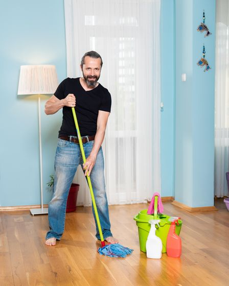 """Kitchen cabinet kick spaces can become """"mould farms"""" when dampened by floor mopping."""