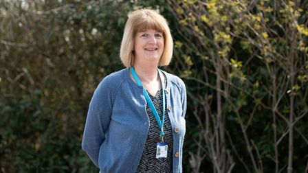 Ginny Shoesmith is retiring from Suffolk police after 17 years service