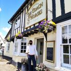 Tenant Jon Louis reopening The Coach and Horses in Newport on April 12 after a planning appeal refusal of pub garden houses