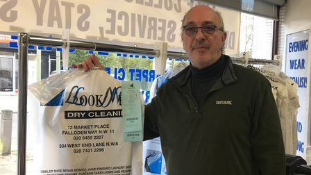 Ian Cohen from Look New Dry Cleaners