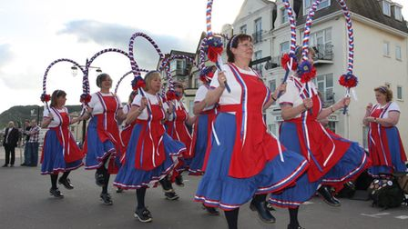 The Sidmouth Steppers. Ref shs 0486-23-11SH. Picture: Simon Horn