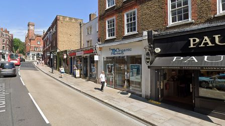 A new opticians could move into the old Organic Pharmacy in Hampstead High Street