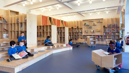 Thornhill School's new library