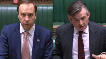 Jonathan Ashworth calls for an apology from Matt Hancock for his response to Rosena Allin-Khan. Phot