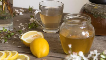 A healing Honey Lemon Tea, self-care is an important part of Slow Living