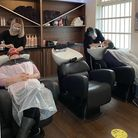 PICTURES: Hairdressers return in North Somerset