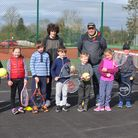 Youngsters attend Wisbech Tennis Club Easter sessions