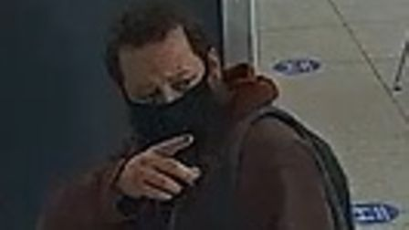 This man was seen in Wembley Park following a sex assault in Kings Cross