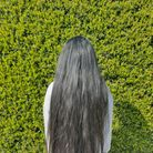 Isabella Pillay, 14-years-old from St Ives has been growing her hair for eight months.