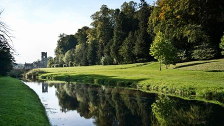 River Skell at Fountains Abbey