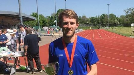 St Albans Striders' Mike Martin