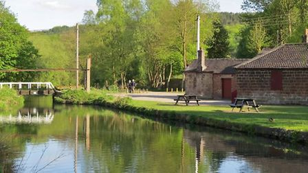 High Peak Junction on the Cromford Canal