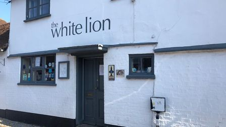 The White Lion in Sopwell Lane, St Albans.