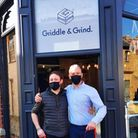 Owners of Griddle and Grind, Ashley Skipp and James Larman