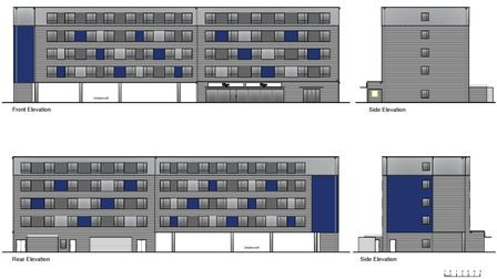 The proposed Travelodge for Ipswich's Russell Road
