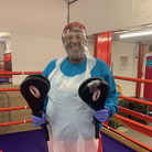 Islington Boxing Club has re-opened its doors with Covid-19 secure restrictions in place