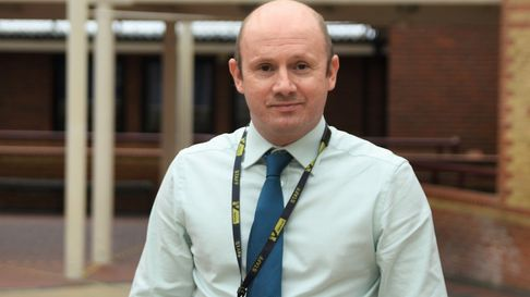 Steven Sheard is the curriculum team leader and a teacher of business at NewVIc college