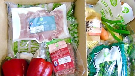 Food boxes can be useful for ideas and for those who lack confidence in the kitchen.