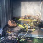 """Shefford Saints' Stewart Knight thanked the community for their support after the """"awful"""" fire"""