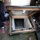 Firefighters responding to an incident at the London Road property found a flat in the basement
