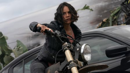 Michelle Rodriguez as Letty in Fast & Furious 9.