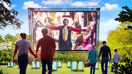 The Greatest Showman at Knaresborough - outdoor cinema this summer