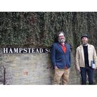Morgan McClaren and Ted Shergalis, founders of Hampstead Literary Society