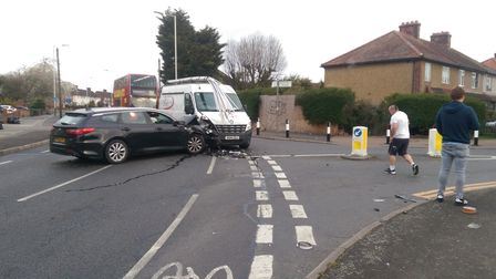 A fifth crash in 18 months has left neighbours exasperated with the situation