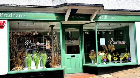 Bradhams Fantastic FlowerS can be found at 38 Fore Street in Old Hatfield