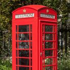 A stock image of a red telephone box