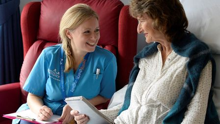 North Devon Hospice supports the whole family, when someone is affected by an incurable illness