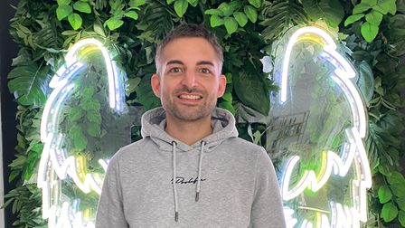 Fabio Vincenti visited Glo & Blo Glam Bar in Hitchin in their opening week