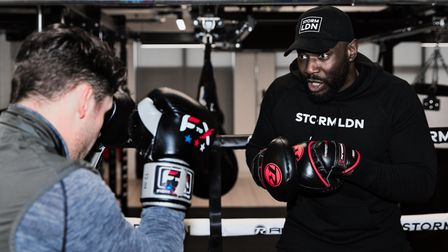 Dembo Jobe, co-founder of Storm LDN gym in Queen's Park