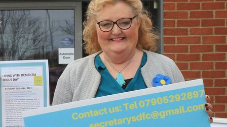 Liz Withington (Liberal Democrats) is standing forSheringham division.