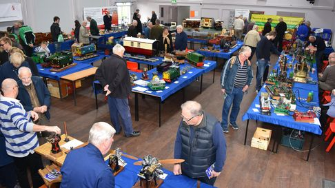 The sixth annual Lowestoft model engineering and model making exhibition in 2019.
