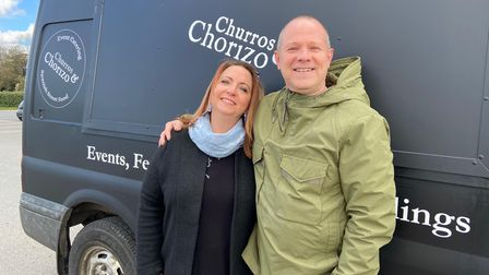 Natalie and Nick Brewer will be openingLa Churreria -The Little Shop of Churro cafe in Thorpe St Andrew.