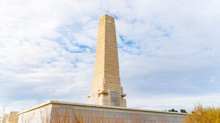 The Helles Memorial serves Commonwealth battle memorial for the whole Gallipoli campaign.