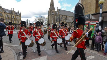 Gallipoli Day parade in Bury