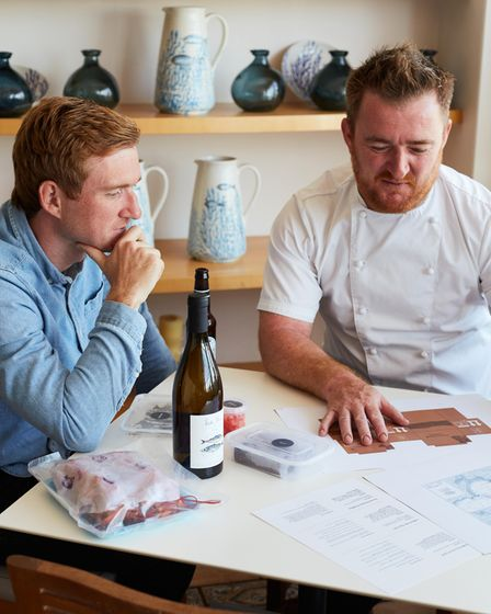 Rick Stein's sons Ed and Jack