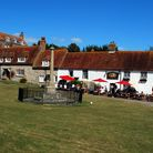 The Tiger Inn and Village Green in East Dean, Sussex