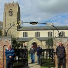 Wisbech St Mary Parish Council repaired 110-year-old gates
