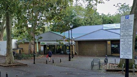 Highbury Leisure Centre, which opened back up this week after a refurb