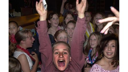 Youngsters enjoying themselves at the Lowbiza Summer Beach party at Lix's in 2002