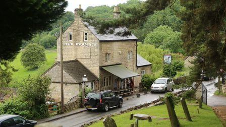 The Woolpack Inn in Slad, 'Cider With Rosie' author Laurie Lee's favourite pub
