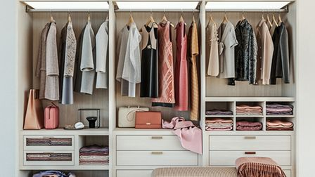 Decluttering will give you more space to organise your clothes and keep them in better order