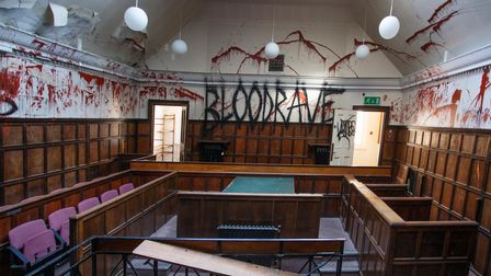 The 'bloodrave' was shut down by police on Halloween 2021