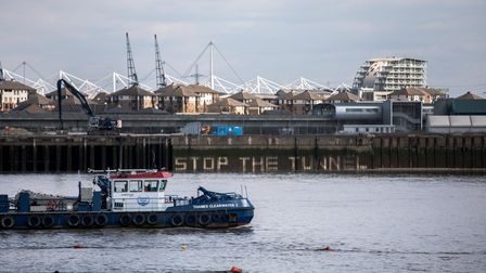 stop the tunnel jet washed on thames