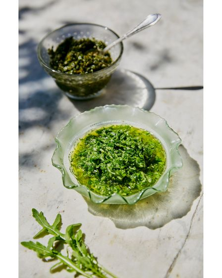 Wild garlic pesto can be whipped up in minutes