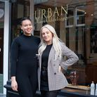 Tiani Goulbourne and Kelsey Hardwick have opened their own beauty and hair salon, Urban Hair Additio